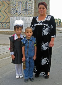 Making it to age five: one of the best health indicators for a country. (Samarkand, Uzbekistan. 2008)