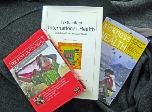 A few of my global health required readings.