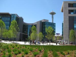 Gates Foundation headquarters (Seattle, June 2011)