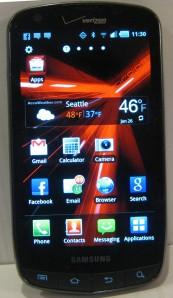 Smartphone for social media