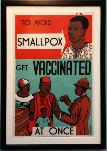 Smallpox poster (Credit: Centers for Disease Control)